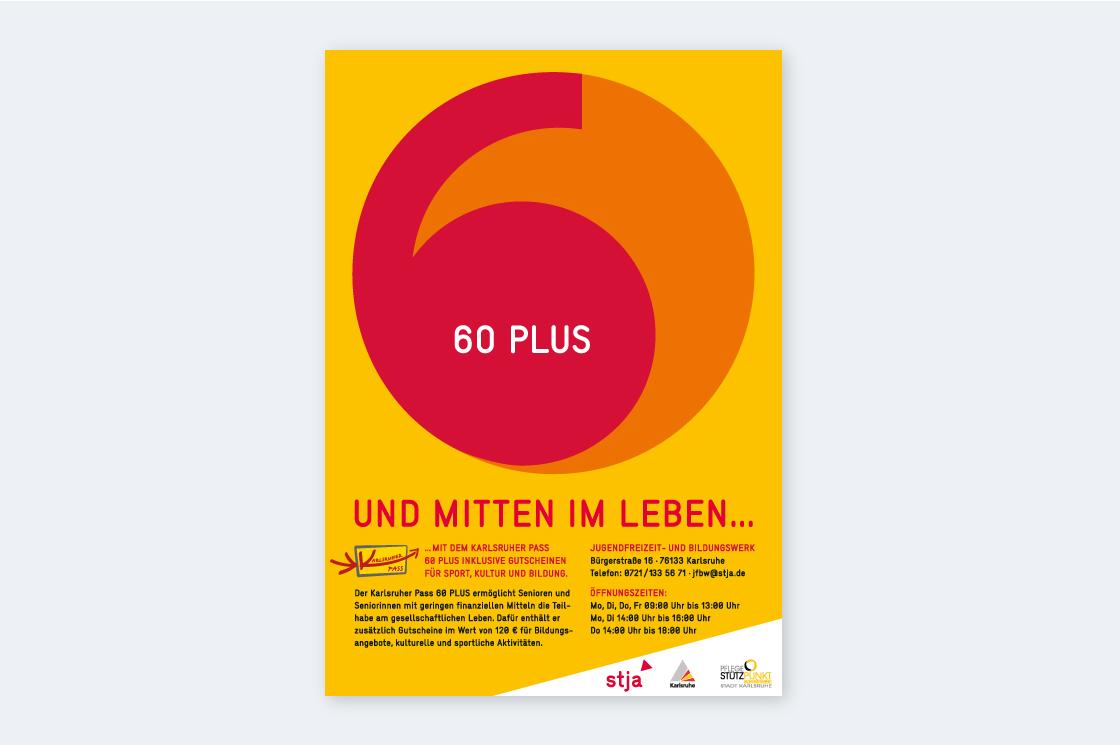 Plakat 60 PLUS